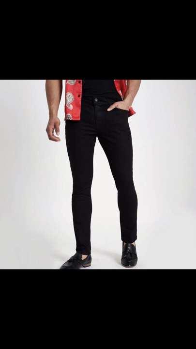 Men Black SlimFit Jeans