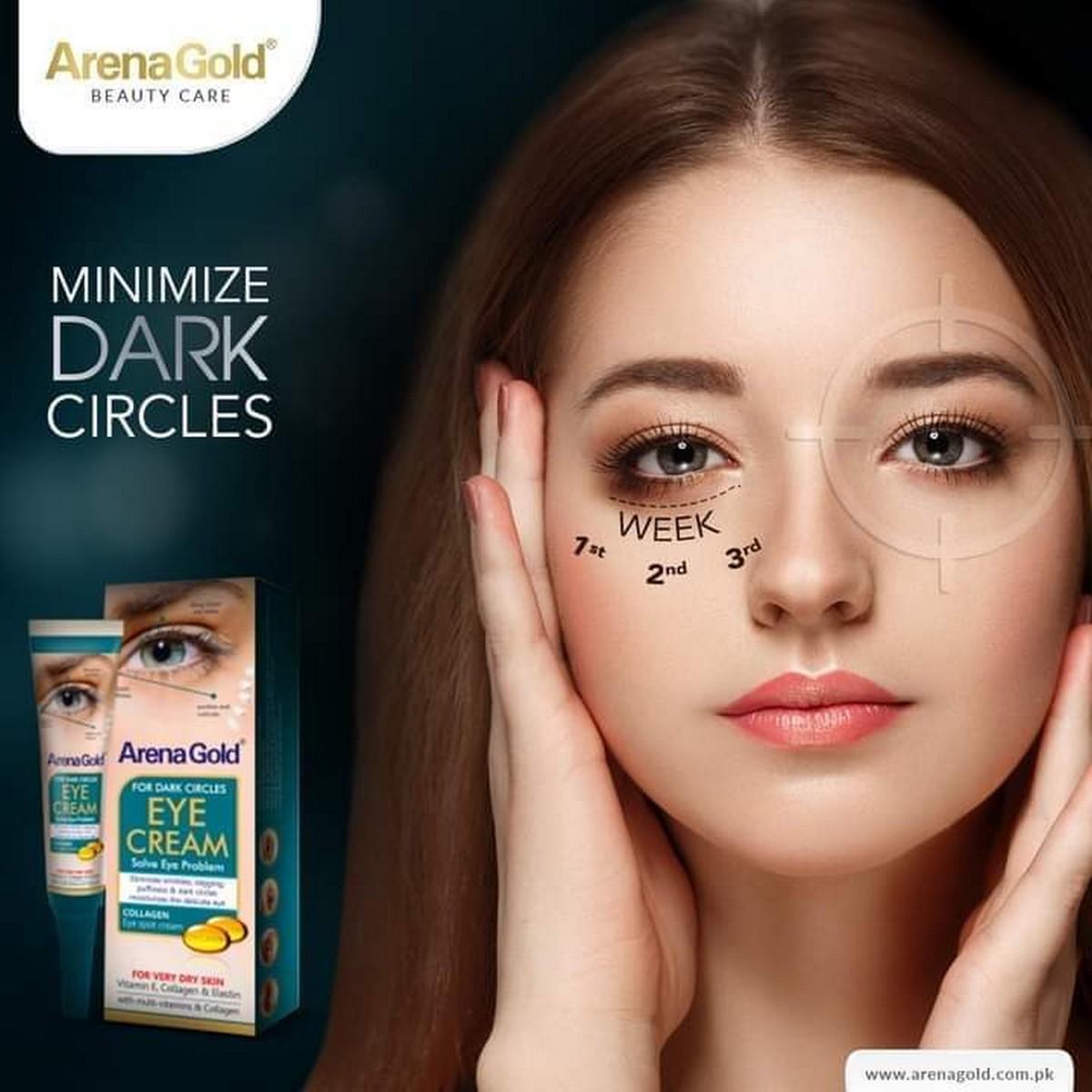 ARENA GOLD EYE CREAM FOR DARK CIRCLES
