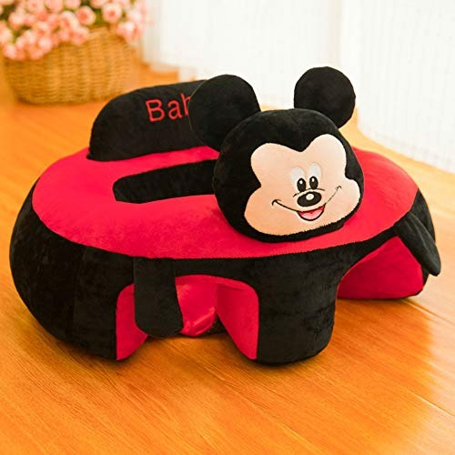 Baby Seats Sofa Toys Cartoon Animal Seat Support Seat Kids Plush Toy Baby Soft Seat Cushion Stuffed Play Toy for School Period