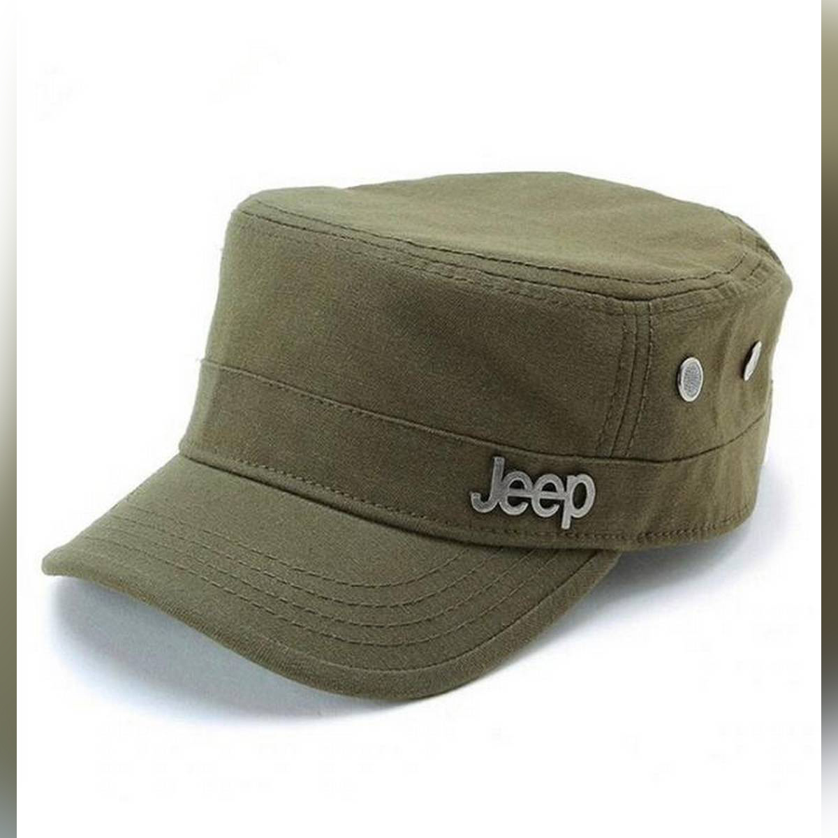 Army Style Jeep Cap for Fashion and Sun Protection Vintage Baseball Cap Sport Sun Hat