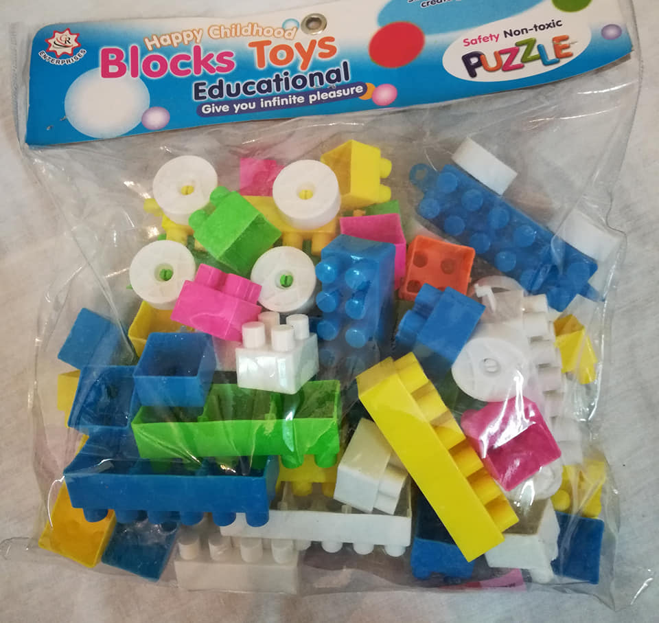 3D Design Building Block for Kids Educational Engineering Construction Toys for Boys Multi-Color Block Toys for Kids