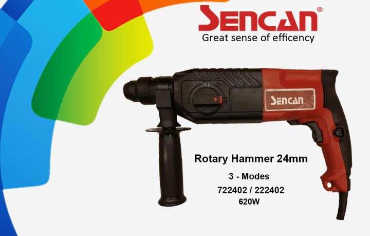 Sencan 3-Mode Rotary Hammer Drill 24mm  722402
