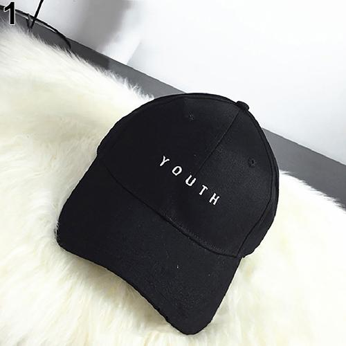 50f25277737 ECHIDNA Fashion Unisex Youth Letter Embroidery Hat Outdoor Sports Snapback Baseball  Cap