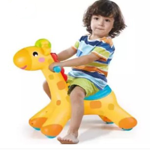 2 in 1 Rocker & Scoot Riding Music And Lights Giraffe For Kids Play Toys