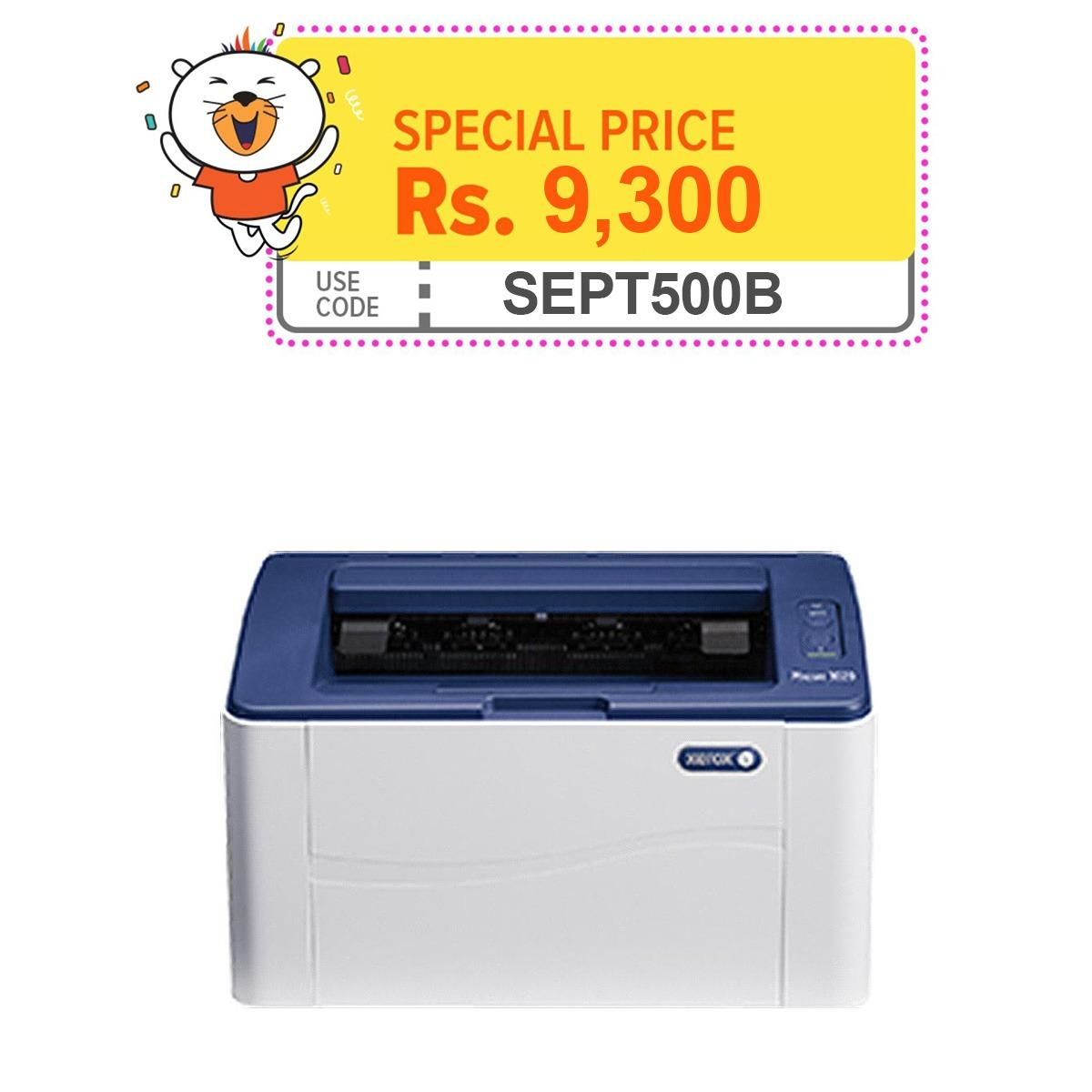 Xerox® Phaser 3020 - Monochrome Laser Printer