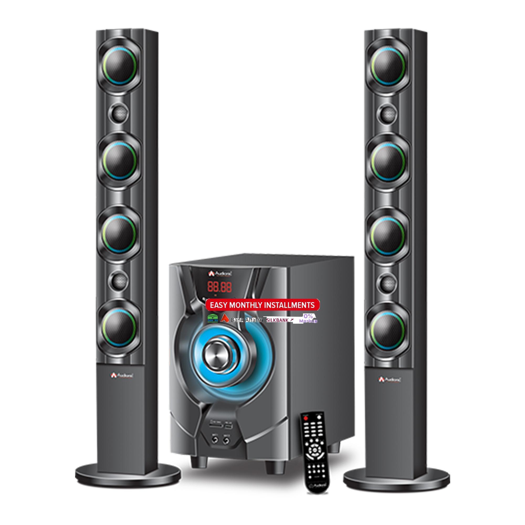 Audionic Reborn Rb 110 2 1 Channel Speakers Black Buy Online At Best Prices In Pakistan Daraz Pk