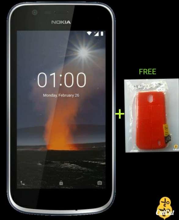Nokia 1 blue dual sim cemera advance telecom warranty original