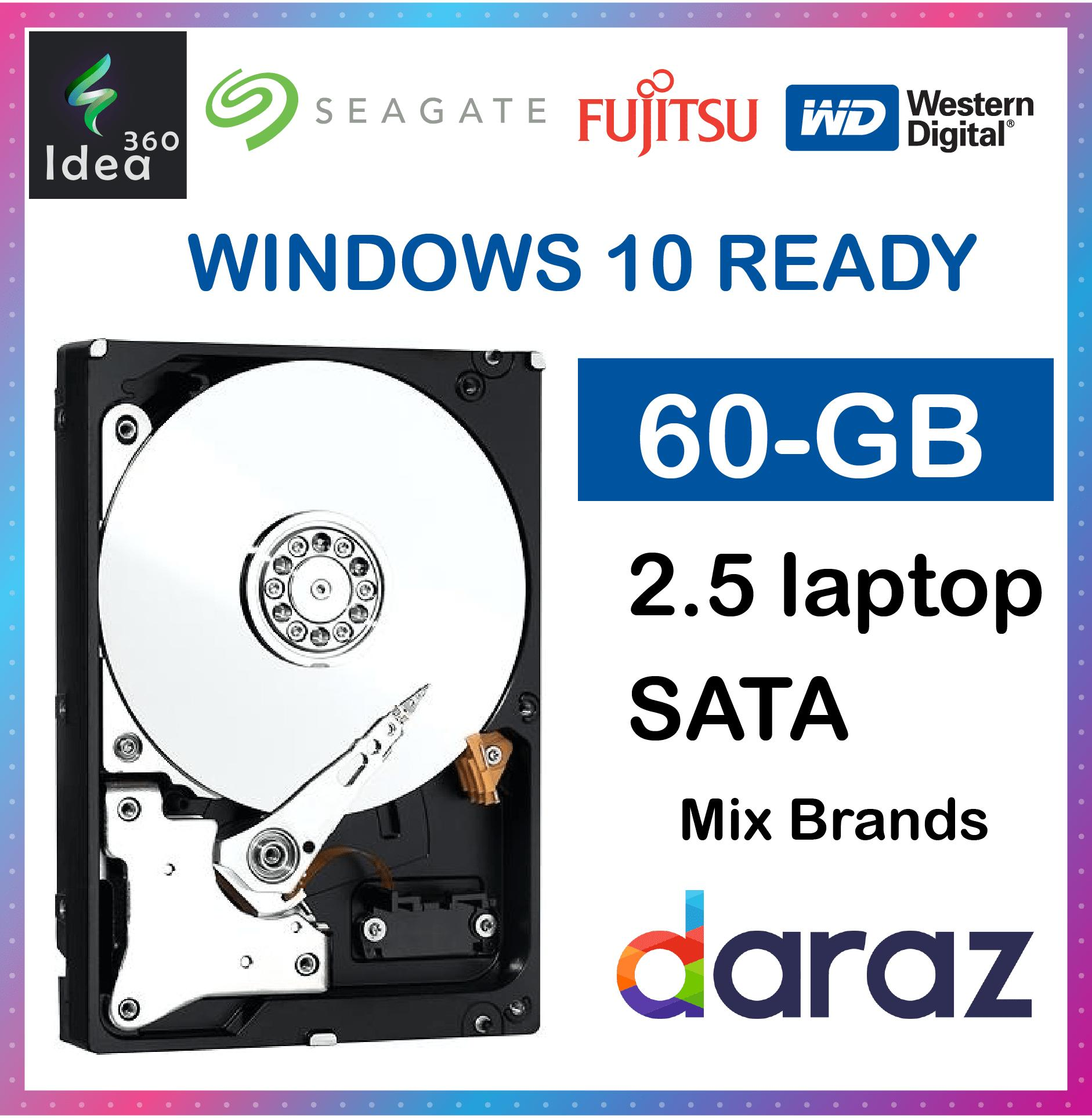 LAPTOP 60Gb 60 gb 2 5 SATA Internal Hard Drive For Laptop/PS3/Mac (60 GB)