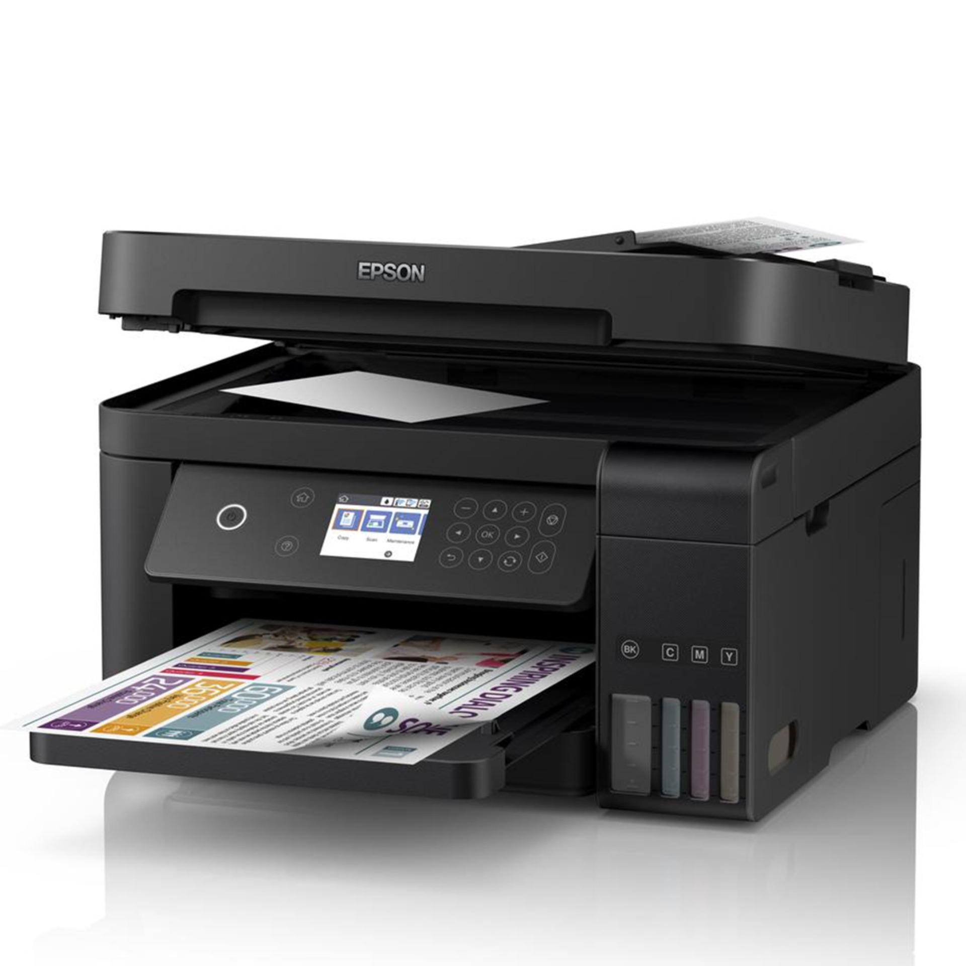 EPSON L6170 WI-FI DUPLEX ALL-IN ONE INK TANK PRINTER (4 COLOR, A4+ SIZE,  PRINT, SCAN, COPY, WITH ADF, 4800 X 1200 DPI)