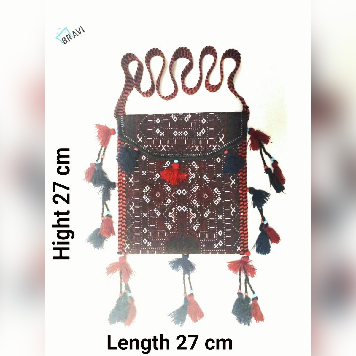 Embroided New style hand made shoulder bags for women's and girls