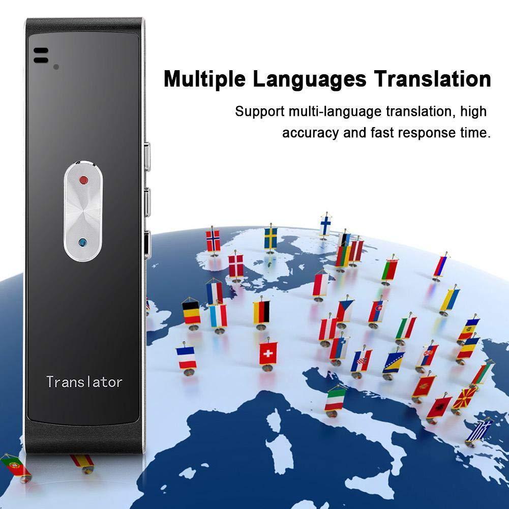 Smart Instant Real Time Multi-Languages Voice Translator 2 4G Wireless  Translator Support More Than 40 Languages Translaty MUAMA Enence