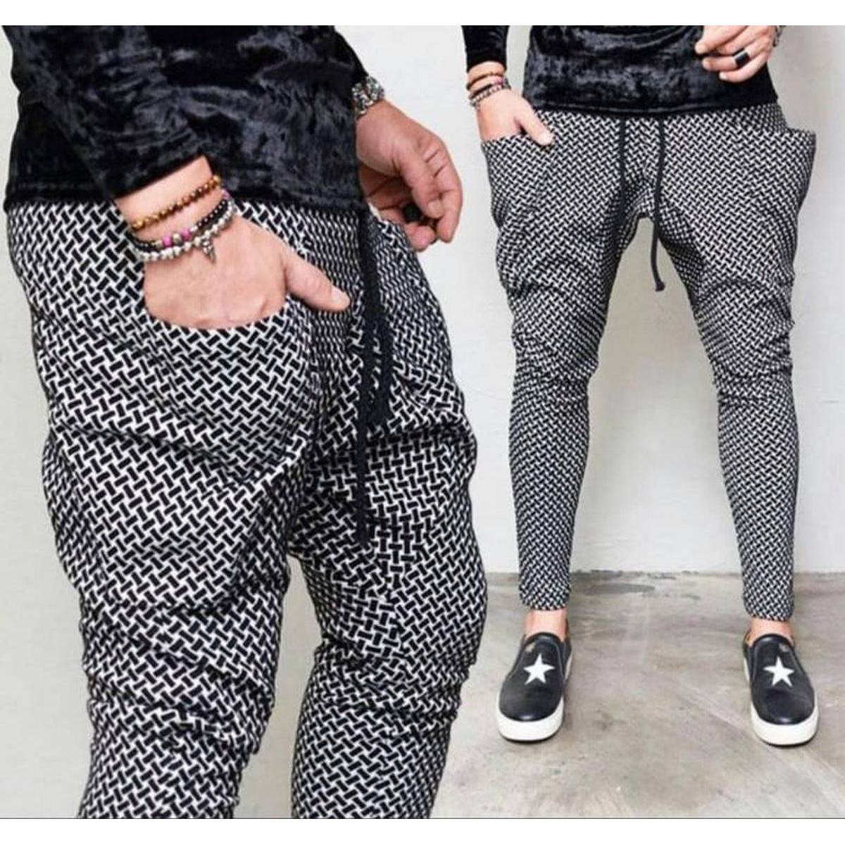 Trouser Pant Imported Men's Lounge Pants Pajamas For Playing And Night Wear.