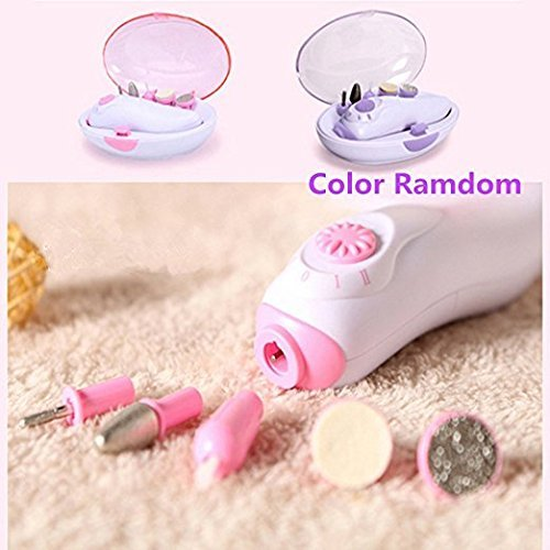 Multi-Kinetic Nail Drill Machine Electric Nail Polisher Exfoliating Polisher AAA Battery Manicure Device Suitable for Nail Salon