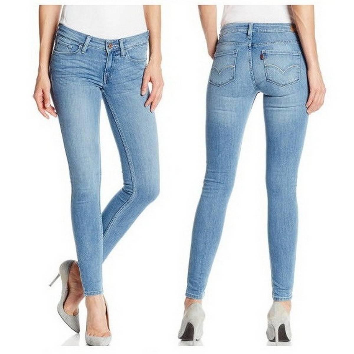 Denim Sky Blue Jeans For Women