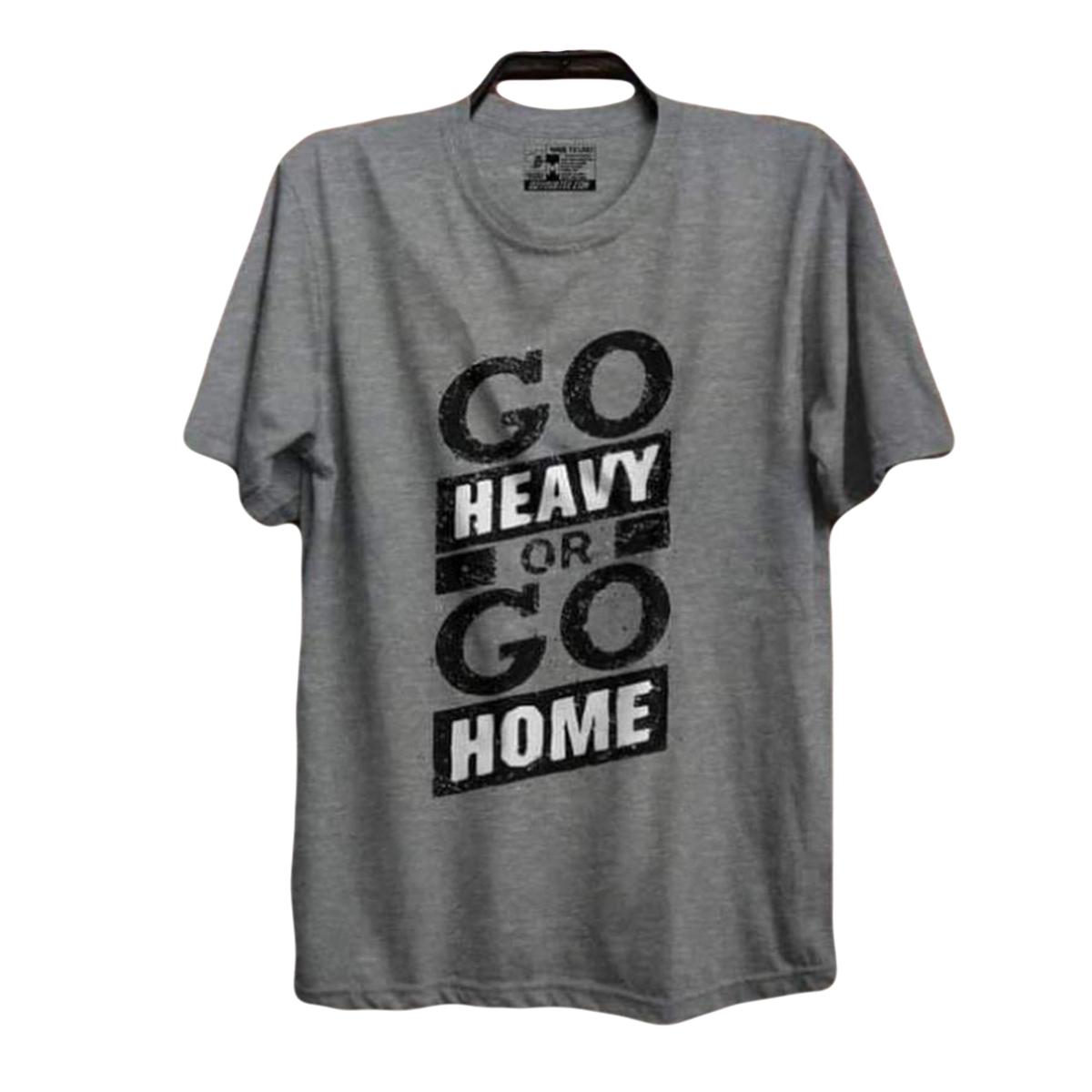 The Vintage Clothing gym printed premium T shirt