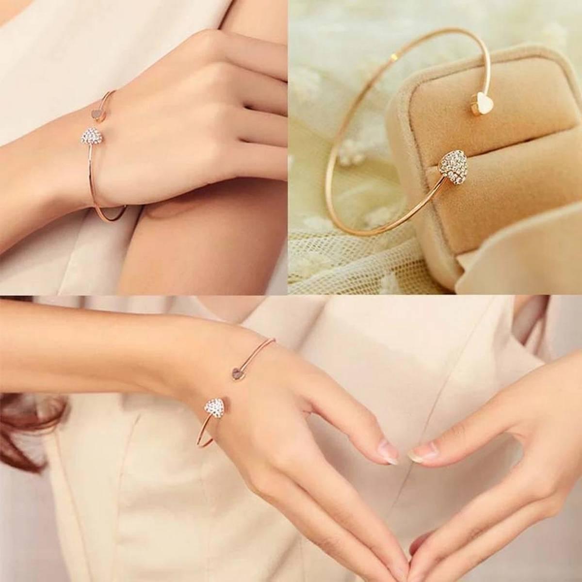 Girls Bracelets ladies Bracelets women Bracelets love Bracelets casual Bracelets fashion Bracelets metal jewelery Bracelets Fine jewelery Bracelets friendship Bracelets metal High Quality Bracelets Elegant Gift Bracelets Heart Shape Bracelets