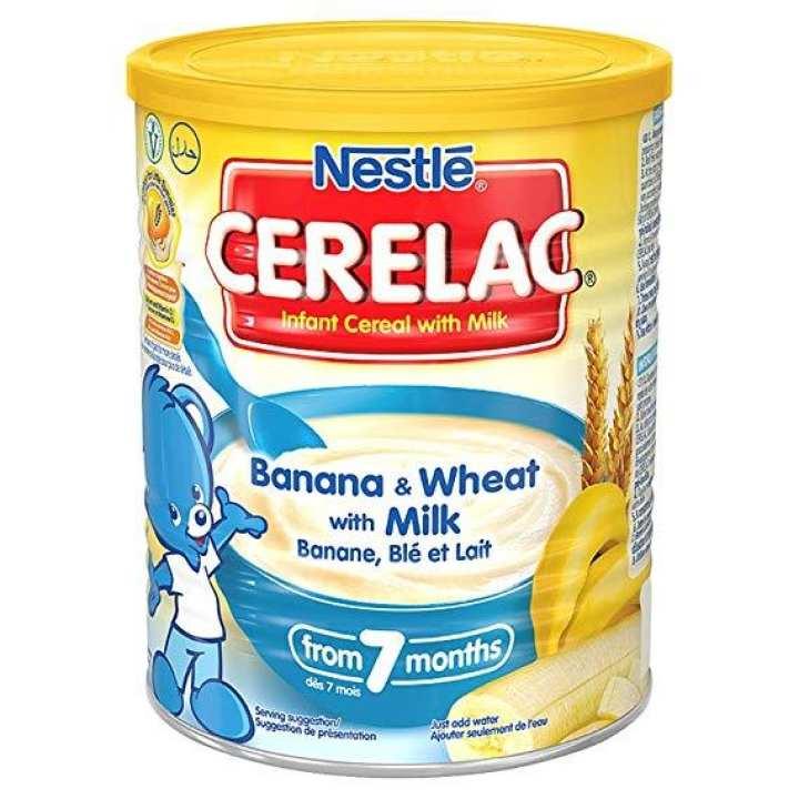 Banana With Milk Carelac 400 gm Tin