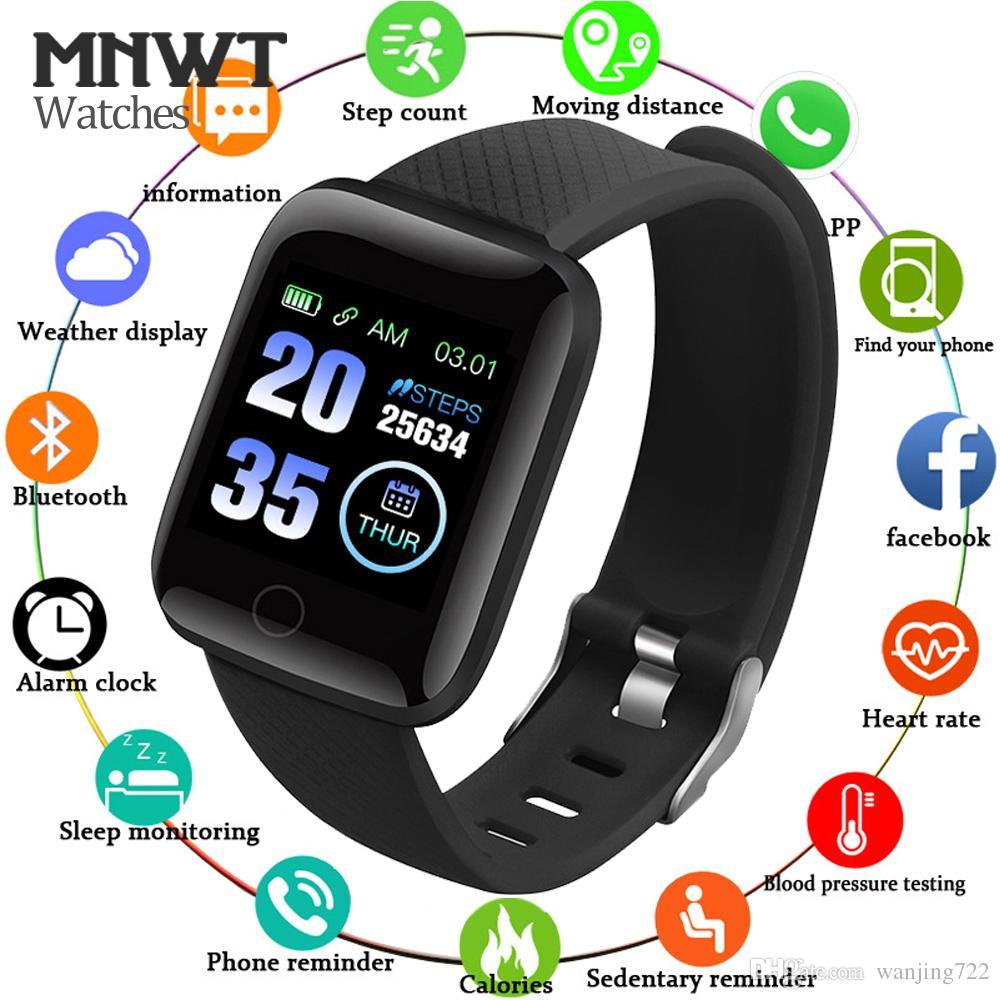 Watches Beautiful Smart Watch Men Or Women Smart Watch Sport Fitness Tracker Pedometer Heart Rate Blood Pressure Watches Led Smart Watch Binssaw