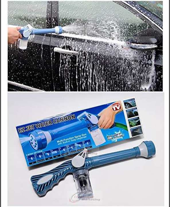 Water Cannon Pressure Multi functional Spray  - Blue