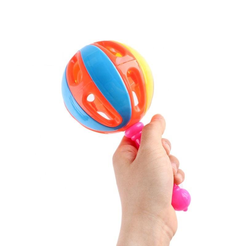 Musical Rattle Toy For Baby And Toddler 20cm Multicolor