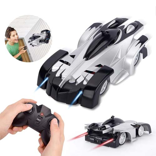 Racing Remote Control Car Wall Climbing Car Toys Remote Control Car Drift Flashing Race Toys Anti Gravity High Quality Car ,Made of high quality ABS material & extreme light weight makes this small car shock proof and durable.