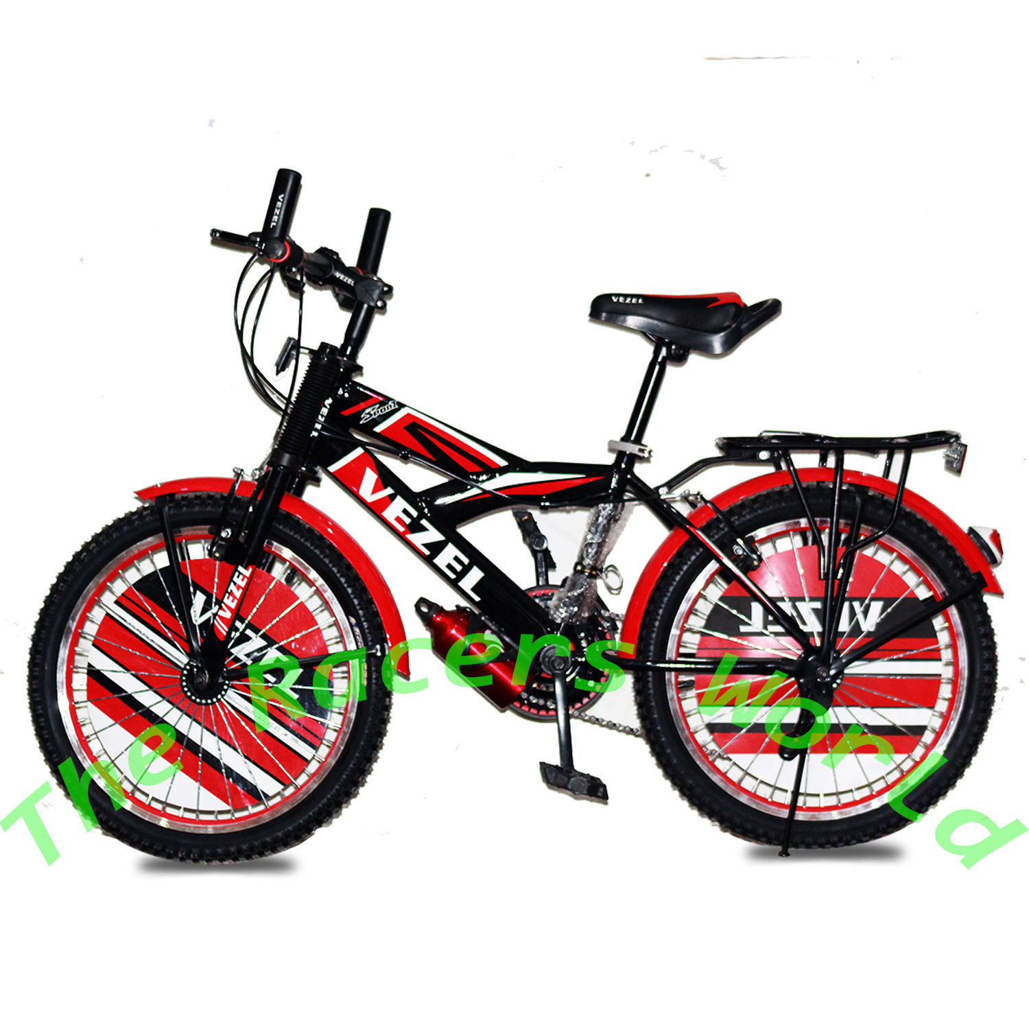 Vezel 20 Inch Professional Sports bike - Bicycle For Boys with Water bottle and Heavy SpokesColor of Your Choice  Product Of Germany with Out Gears Age Range 8-12 Years