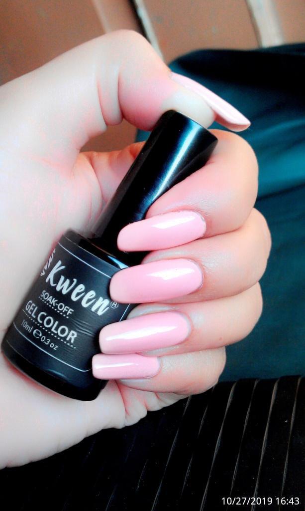 Uv Gel Nail Polish - Light Pink
