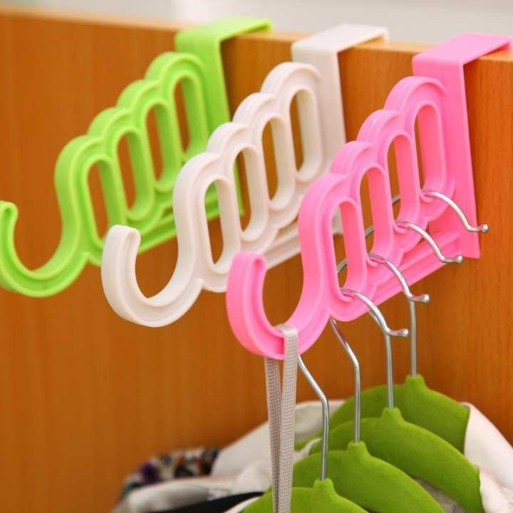 Oddity  Multifunctional Clothes Hanger 5 Hole Drying Rack