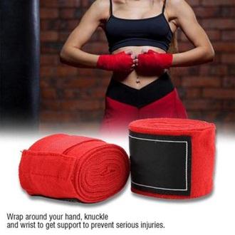Pair Of Boxing Wrist Hand Wrap -Multicolour