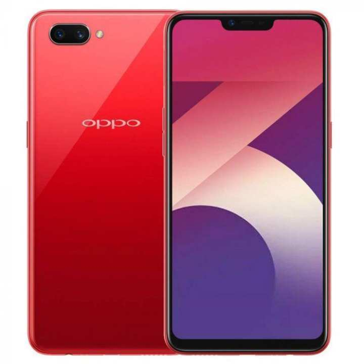 OPPO A3S 16 GB, 2 GB RAM - 6.2 inches - MAIN CAMERA 13 MP - SELFIE 8 MP - RED