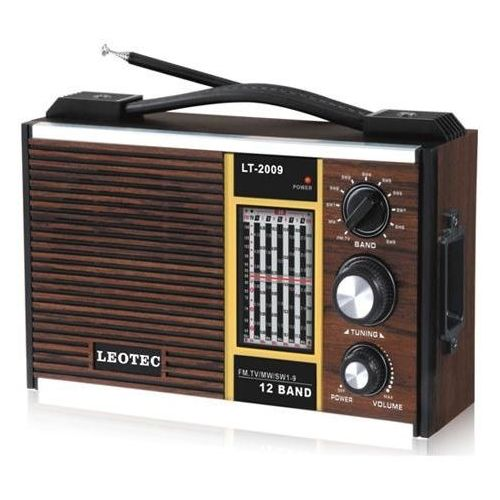 DEGEN Portable AM/FM Shortwave Travel Radio World Band Digital Receiver Locals Sensitivity Antenna Built DE390