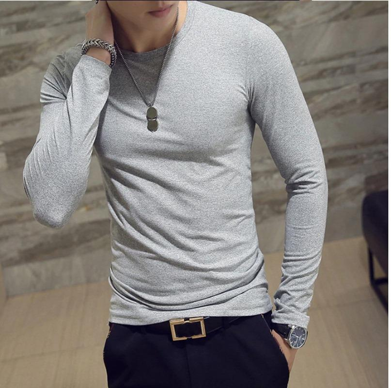 Sleeves Black Maroon Gray T Shirts for Men 3.jpg