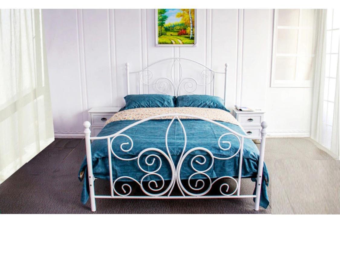 Modren Wrought Iron Metal Bed