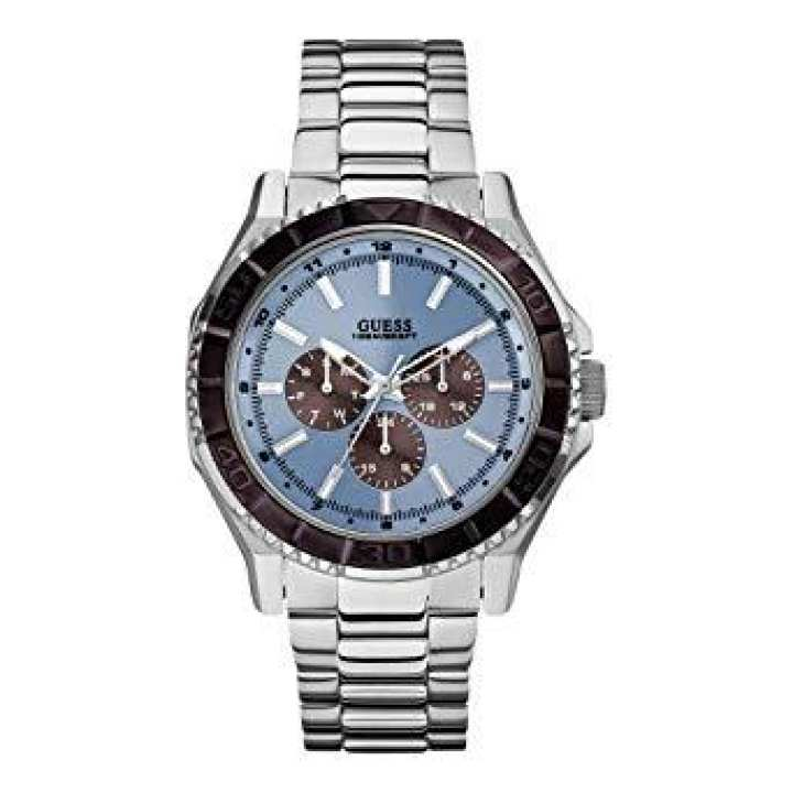Guess Unplugged Light Blue Dial Ladies Watch W0479G2