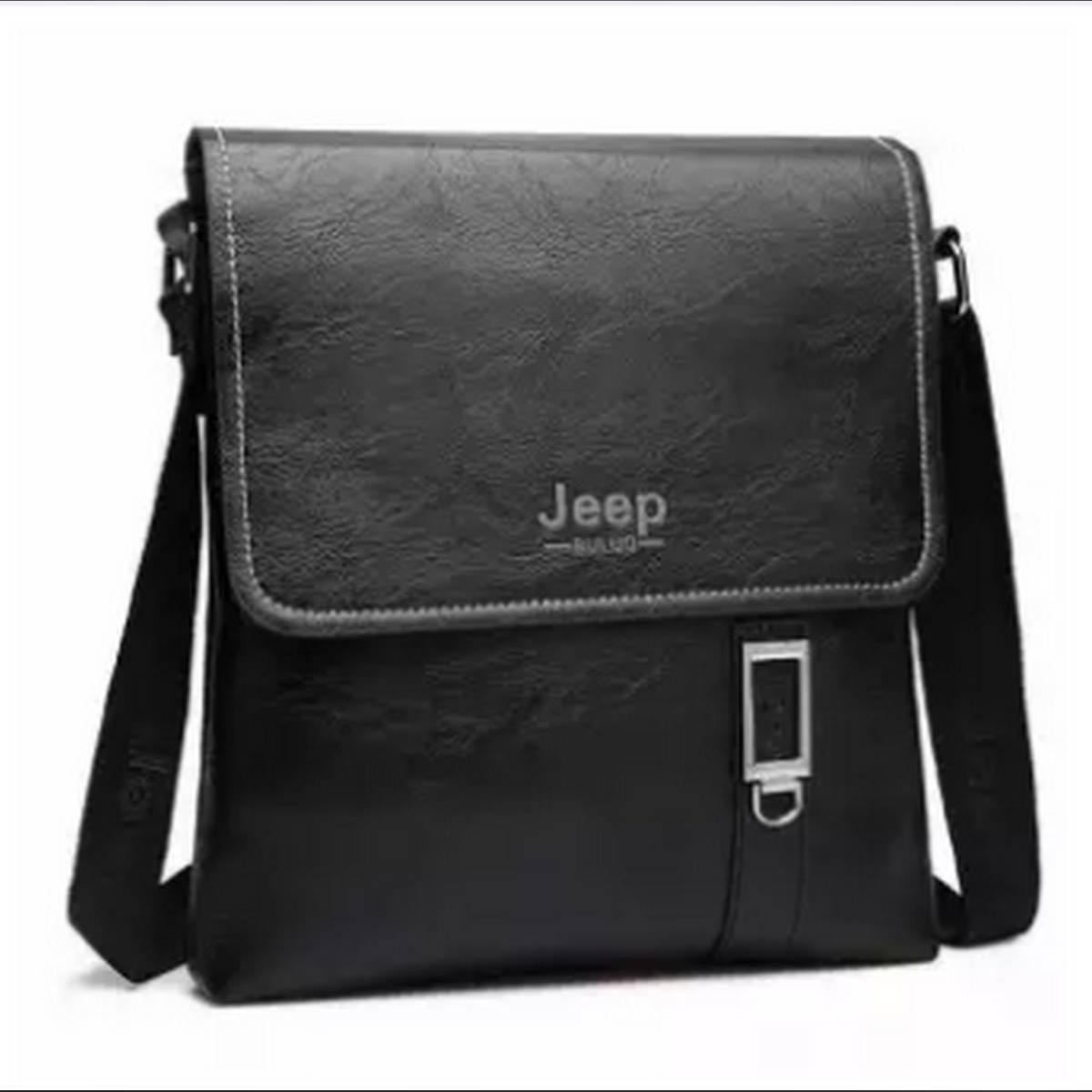 Leather Men Crossbody Bag Shoulder Bag