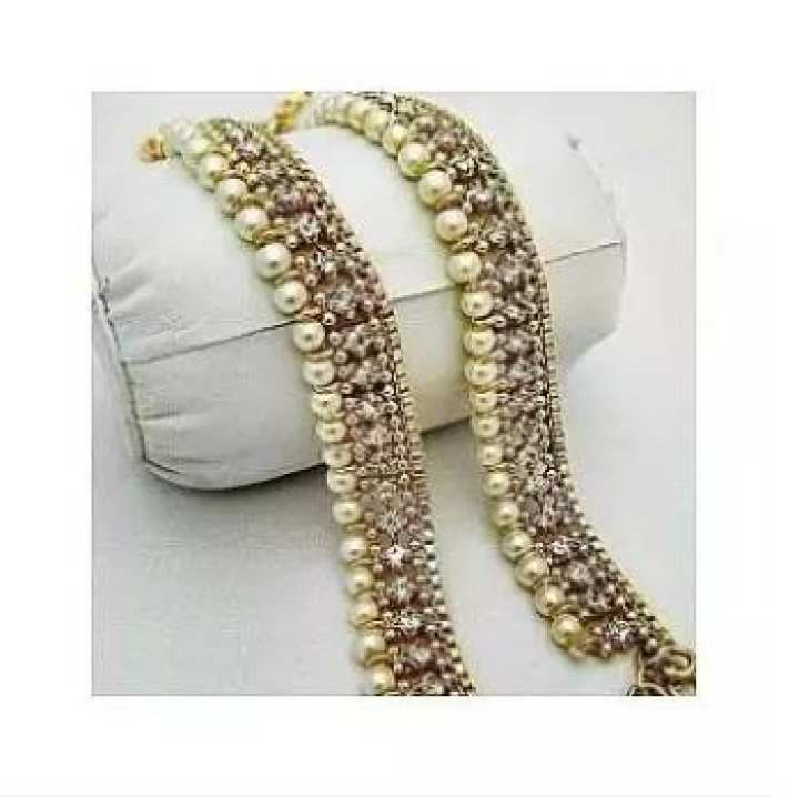 Pair Of Pearl Payals for Her