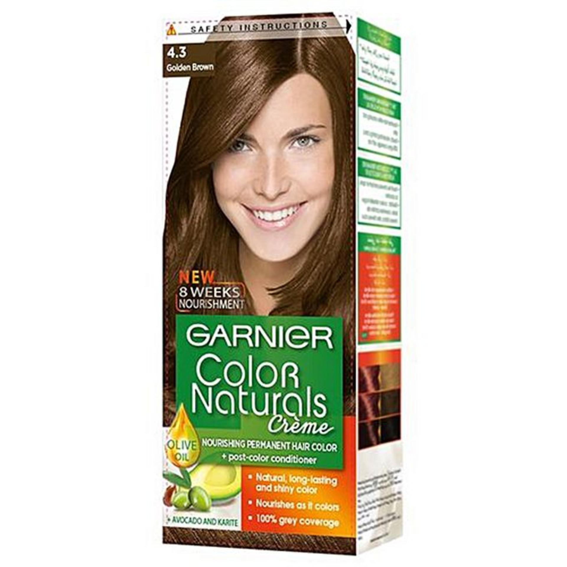 Garnier Color Naturals 4.3 Golden Brown Hair Color