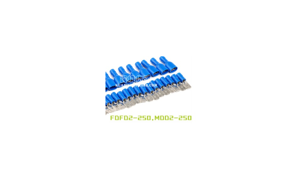 5pcs of Blue Insulated Wire Cable Connector male female