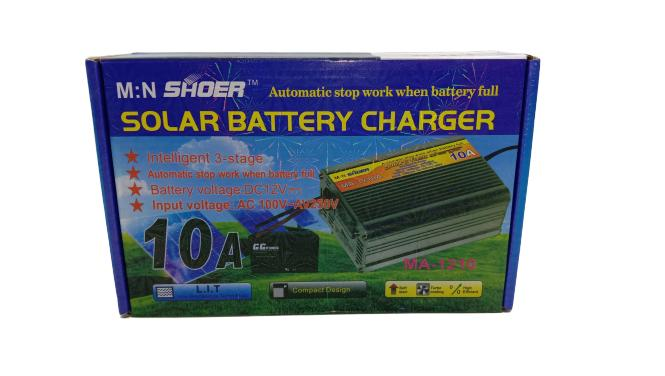 Solar Batter Charger 10 A     MA-1210