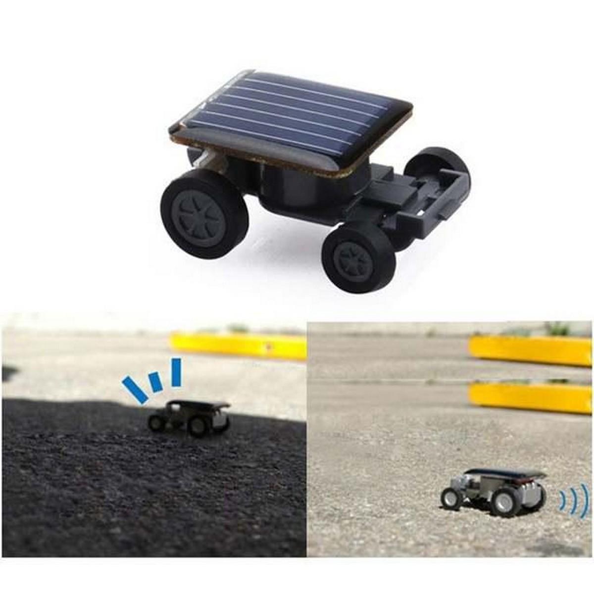 Creative Mini Solar Powered Car Model Sunlight Toys Kit Gadgets Educational Baby Kids Toys for Children