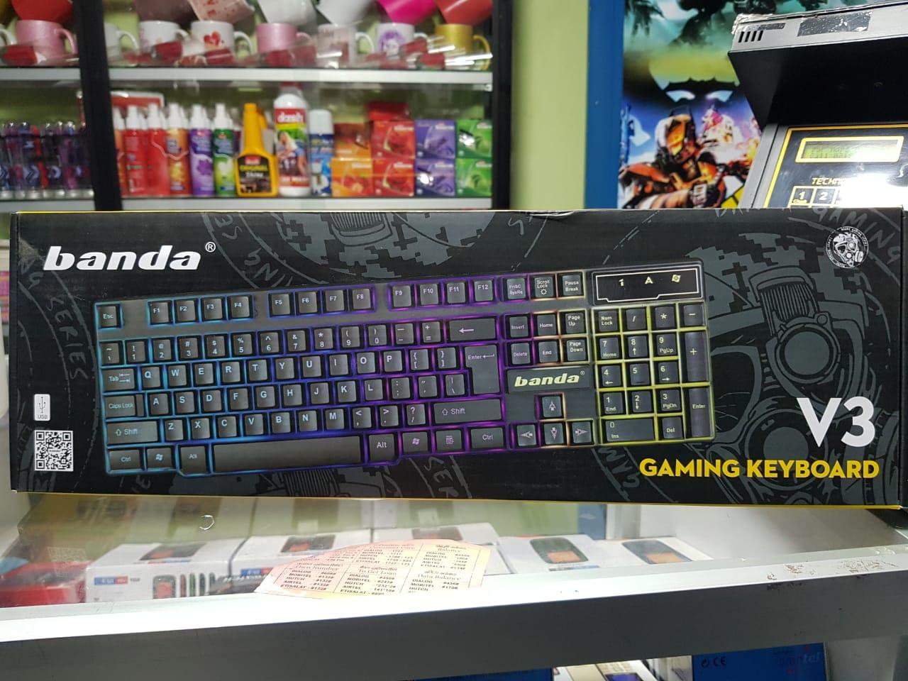 Banda V3 Rgb Gaming Keyboard