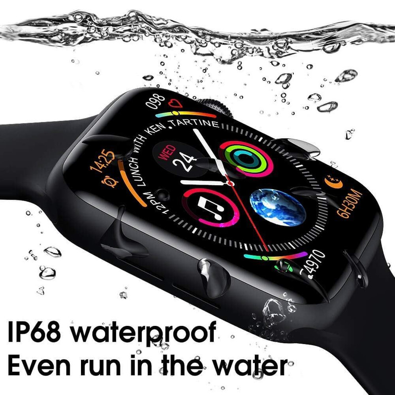 Advanced Version T-500 Plus With Free Belt Fitness Bluetooth Smart Watch Digital Wrist Sports Watch For Apple iPhone Android Samsung Nokia Hauwei and Mi Phones