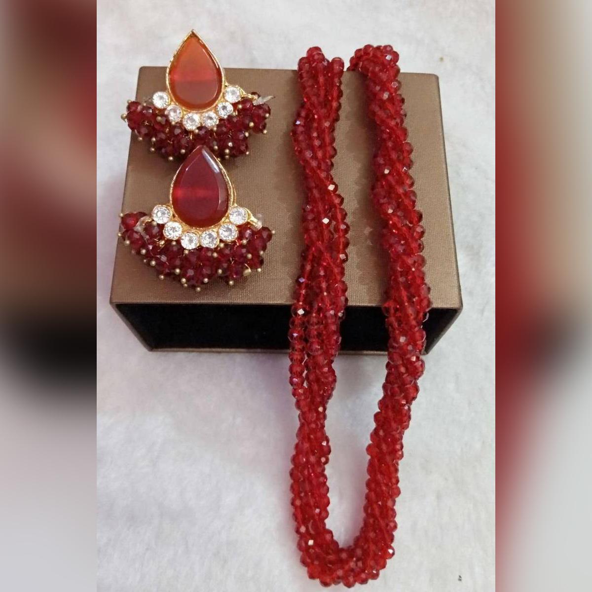 - Set mala styles fashionable design new look   Zarcun set gold plated  - Long lasting Polish - Famous jewellery - Fashionable design