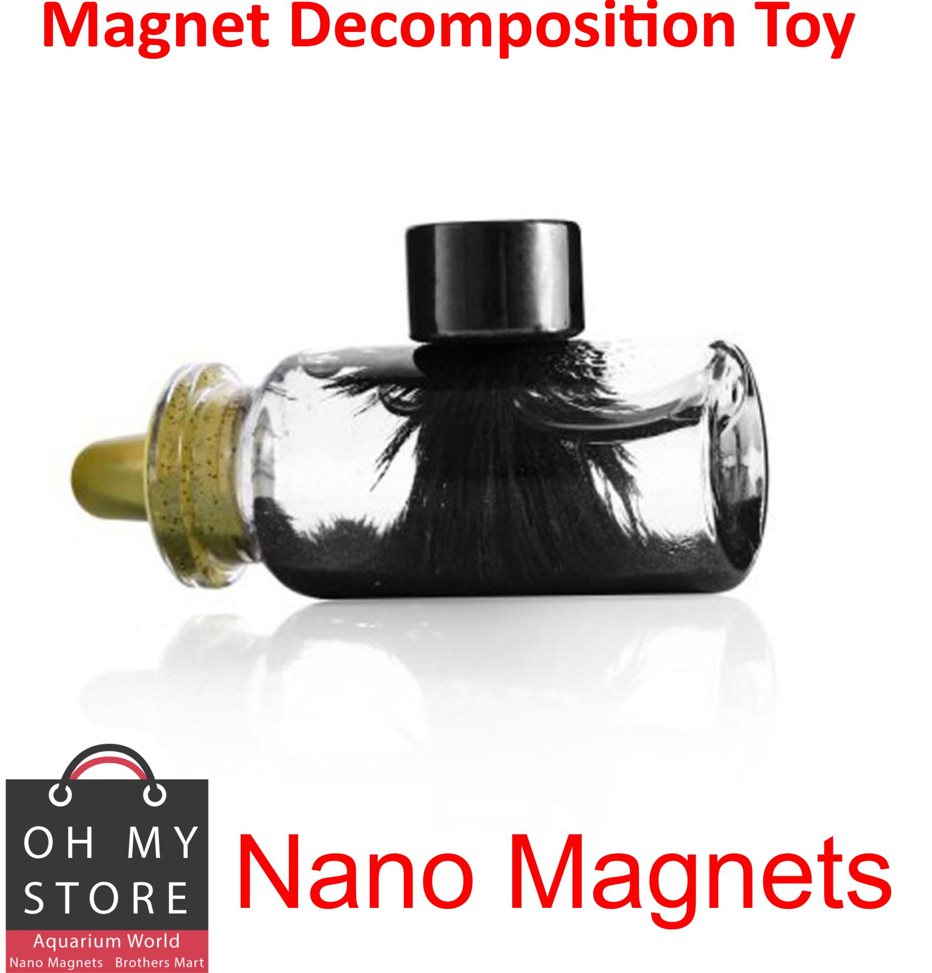 Creative Magnetic Powder Bottle + Magnet Decompression Anxiety Stress Relaxant Toy
