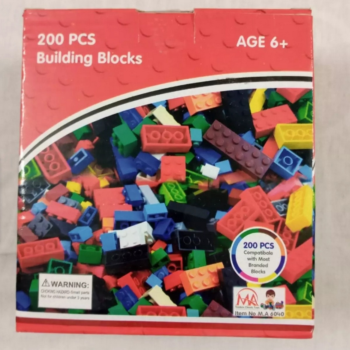 Lego_Building Blocks (Box packed) 300+ pieces