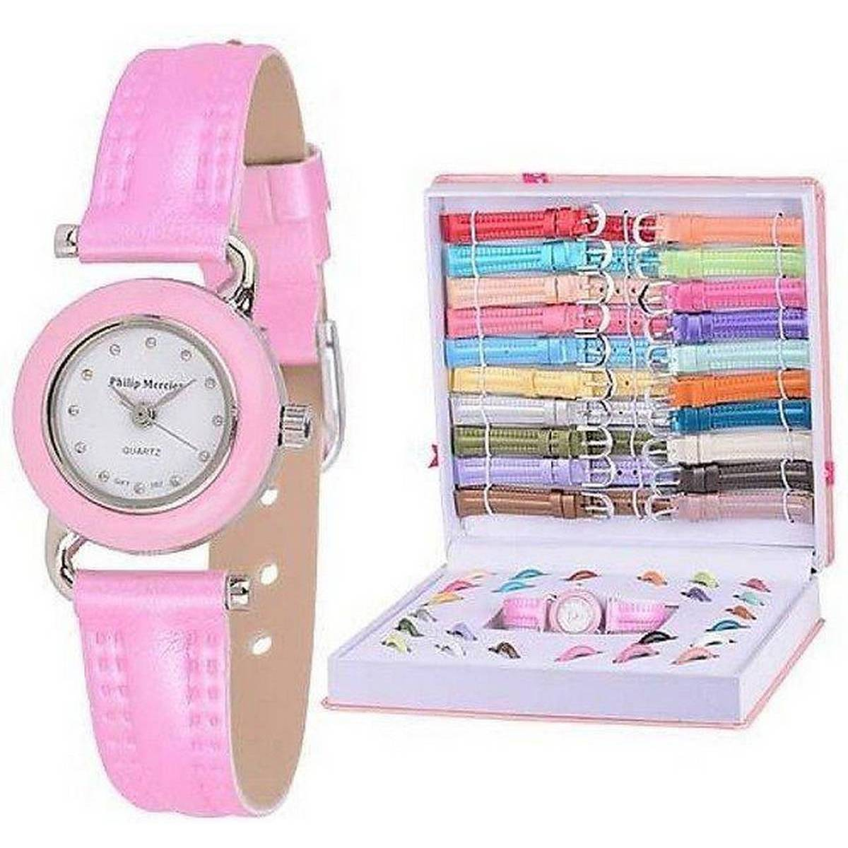21 In1 Interchangeable Straps And Dials Watch Set For Ladies