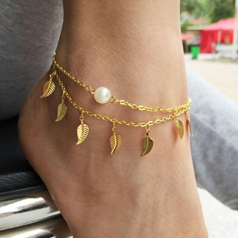ee8e33da8276a Anklet Stylish Bohemian Ankle Bracelet Foot Chain Ladies Jewelry Anklets  For Women Accesorios