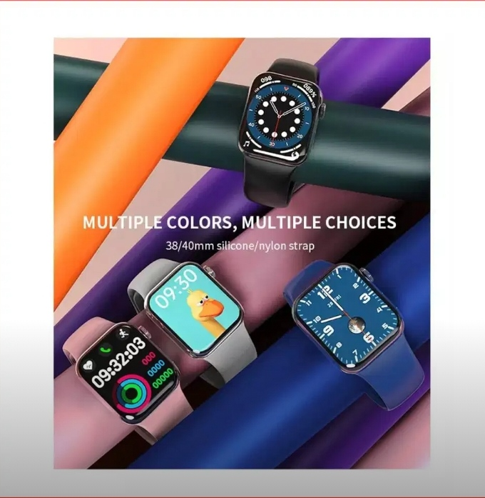 "HW12 Smart Watch 1.57"" Bluetooth call Music Player Heart Rate Monitor Smart split screen display Smartwatch PK IWO12 W26"