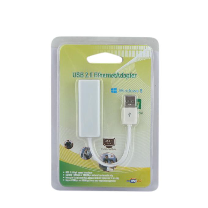 USB 2.0 To RJ45 Lan Network Ethernet Adapter Card Converter USB LAN CARD