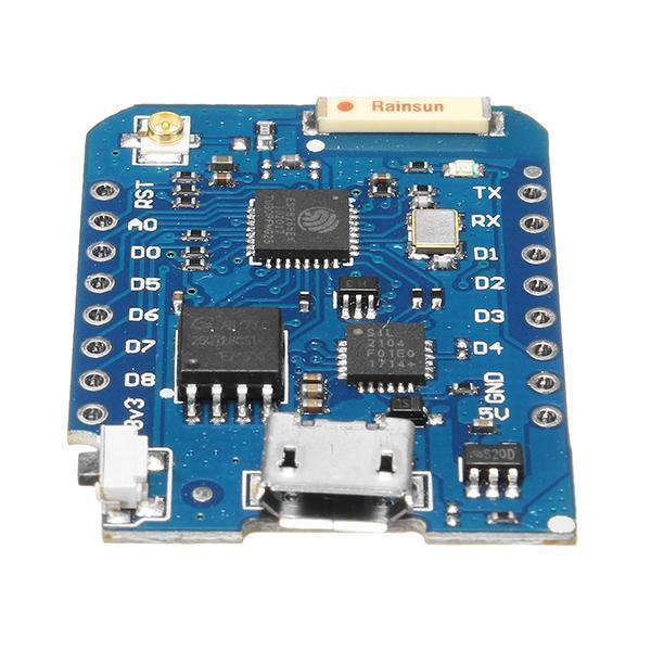 NEW D1 mini Pro-16 +Esp8266 Series Wifi Wireless Antenna 11 digital  input/output pins